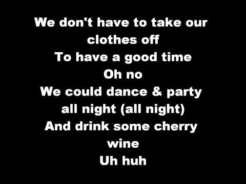 Jermaine Stewart - We Don't Have To Take Our Clothes Off Lyrics