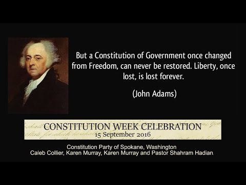Constitution Week Celebration 2016