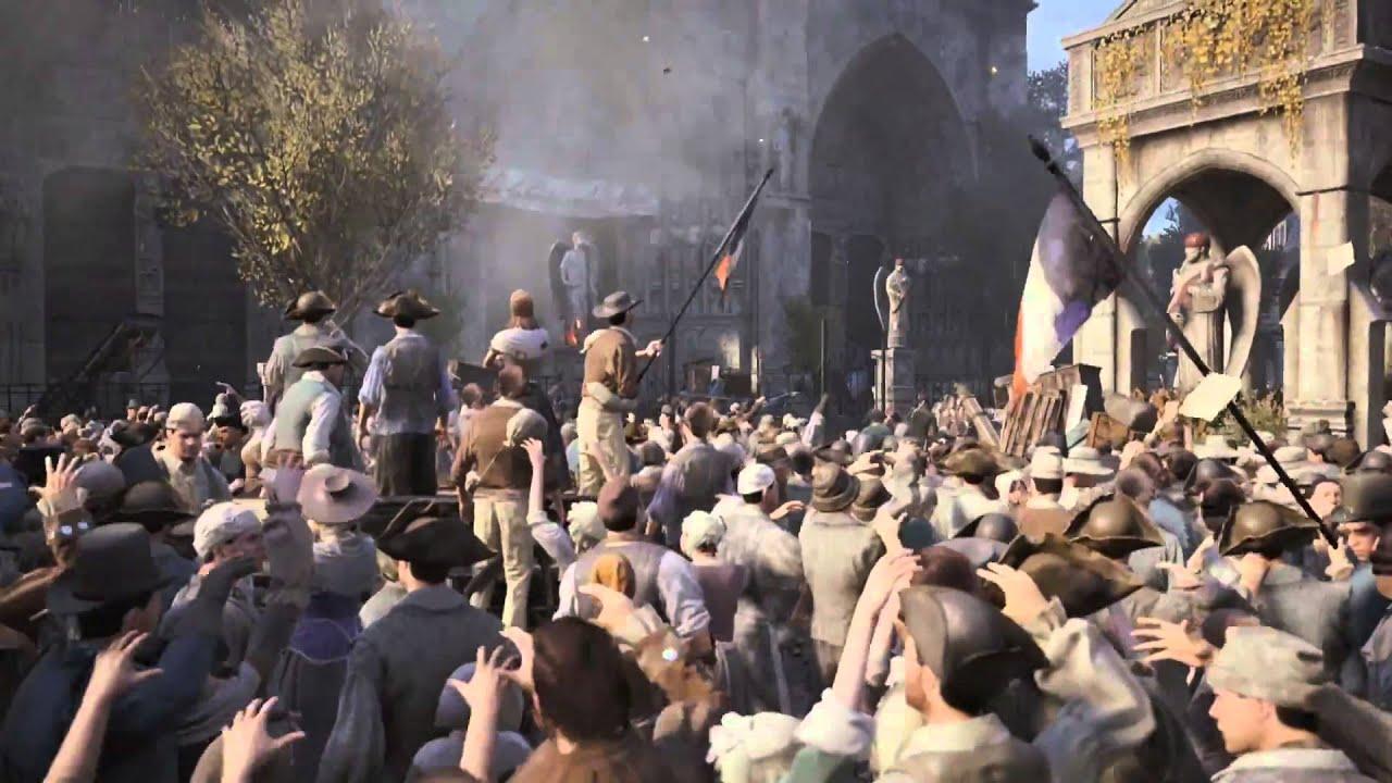 Assassin's Creed Unity - Nuevo motor, nuevo gameplay - Tráiler oficial [Español 1080p]