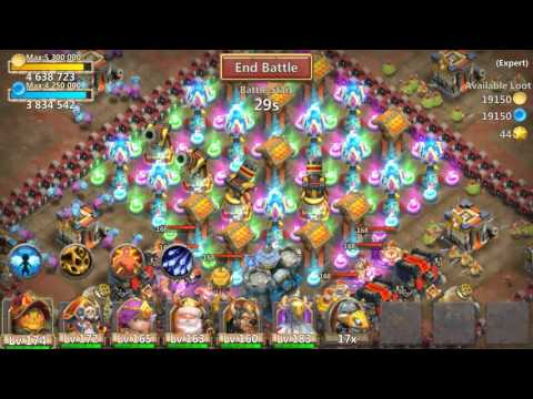 Castle Clash Expert Dungeon 7 4 (3 Flame)