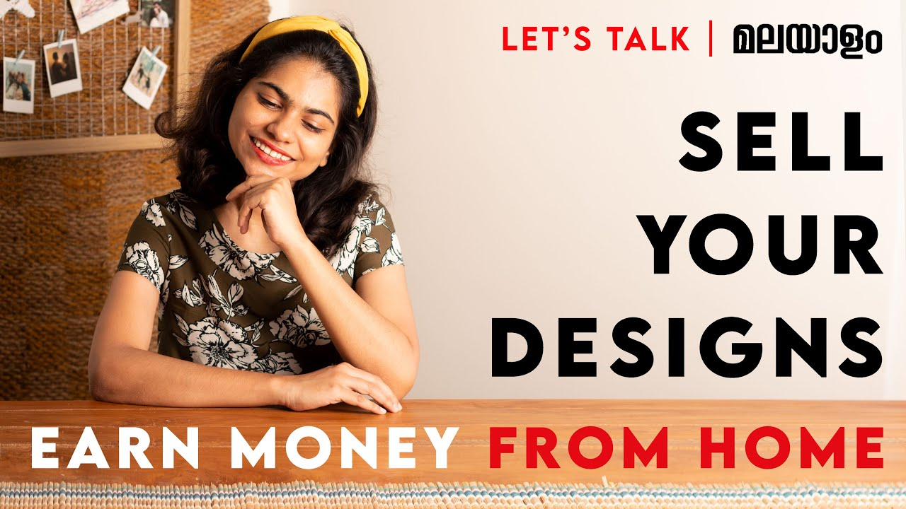 How to make money online for graphic designers | Sell your designs online | Tips & Tricks Malayalam