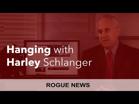 Rogue News: Hanging with Harley - V and Harley Schlanger