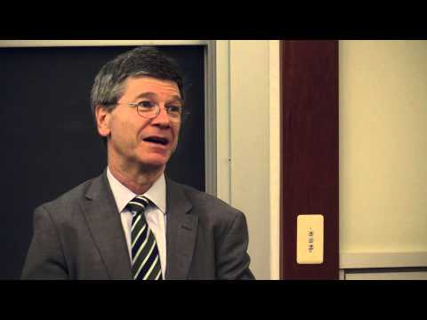 Jeffry Sachs Seminar at Columbia School of Social Work(12/12/13) - 1st hour