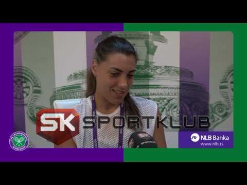 Ana Konjuh za SK (11.7.2017)