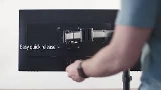 STAND-VAD2 VESA Quick Release Bracket by VIVO