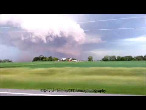 Storm in Yorkville, IL on June 12th, 2013