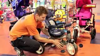 видео детский велосипед от 1 года с ручкой