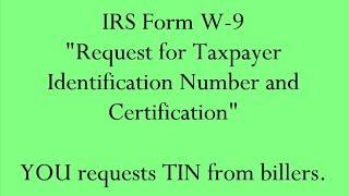 IRS W-9
