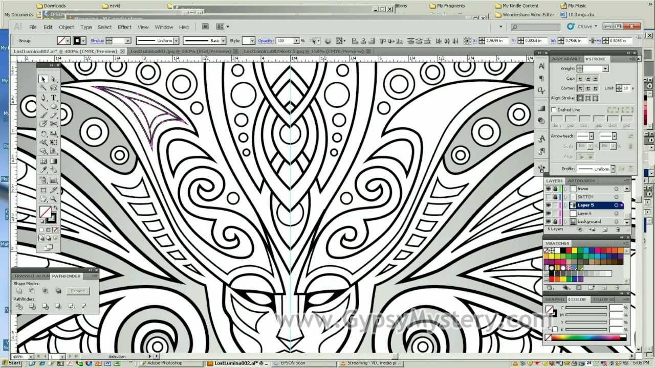 Lost Lumina 2 Timelapse Coloring Book Speed Art By Cristina McAllister