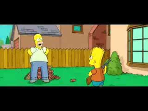 Agree, Bart simpson skateboarding naked idea