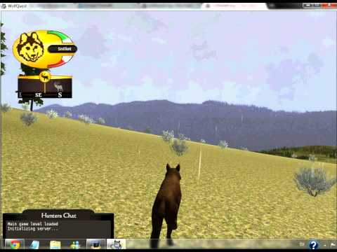 Wolfquest - Killing an elk alone in 1:40 minutes; no eating, dying, bonuses or cheating