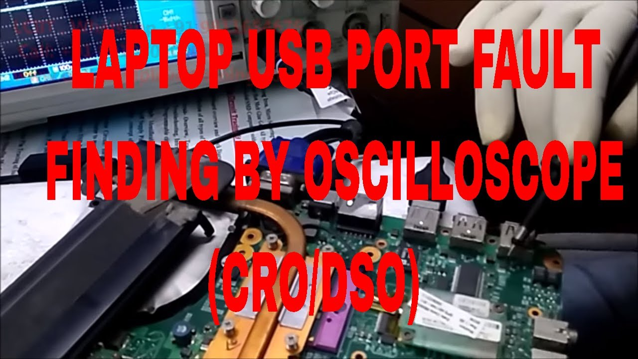 Laptop Usb Port Is Not Working Fault Finding By Oscilloscope Hp Wiring Diagram Testing The Charging Circuit On A Online Training