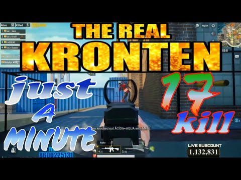 Kronten Over Power || 17 Kill Just A Minute || 20 Kill  | Best Gameplay For Ever