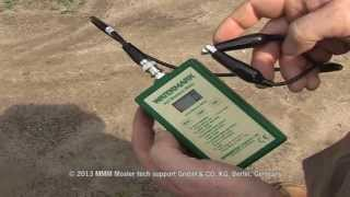 Watermark sensor (with installation tube) & handmeter - by MMM tech support