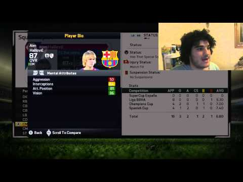 FIFA 15 - Future of Barcelona - 2019 Potential Overall's (ft. Alen Halilovic)