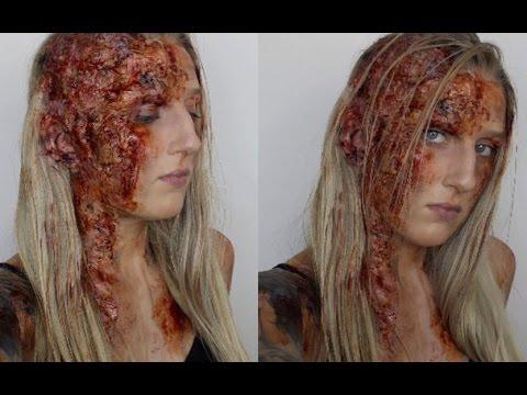sfx burn halloween makeup tutorial the hound game of