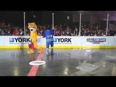 2015 NHL All-Star Weekend Mascot Showdown – The Dance Off