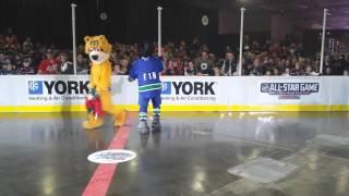2015 NHL All-Star Weekend Mascot Showdown - The Dance Off