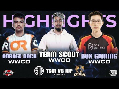 International BattleShowdown Highlights|Feat:- Team @sc0ut CD, TSMvsRiP, OR,Box
