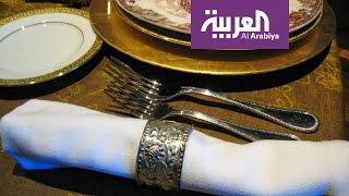 صباح العربية: طرق لتحويل مناديل الطعام الى مروحة وباقة ورد في دقيقة