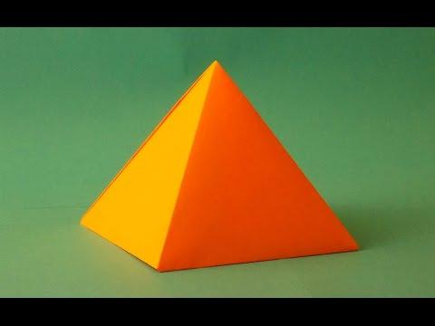 Как сделать объемный треугольник