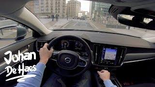 Volvo V90 D3 150 hp POV test drive