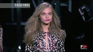 DIANE VON FURSTENBERG Fall 2013 New York - Fashion Channel
