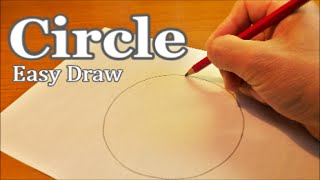 circle draw perfect easy freehand very