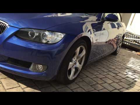 BMW 325i E93 Convertible - Damage video pre-repair