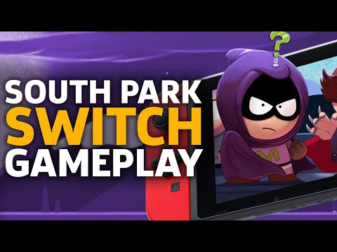 30 Minutes Of South Park On Nintendo Switch
