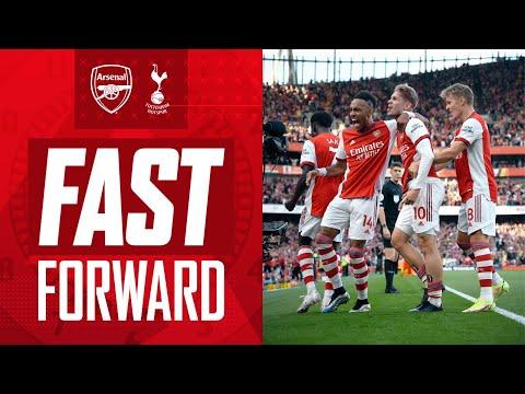 FAST FORWARD    Arsenal vs Tottenham Hotspur (3-1)    Goals, celebrities, tweets, memes and reactions