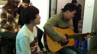 Em về tóc xanh - Lê Bảo Ngọc-guitarist Đức Nhã
