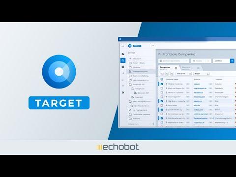 Echobot TARGET: Die größte B2B-Datenbank für aktuelle Verkaufschancen