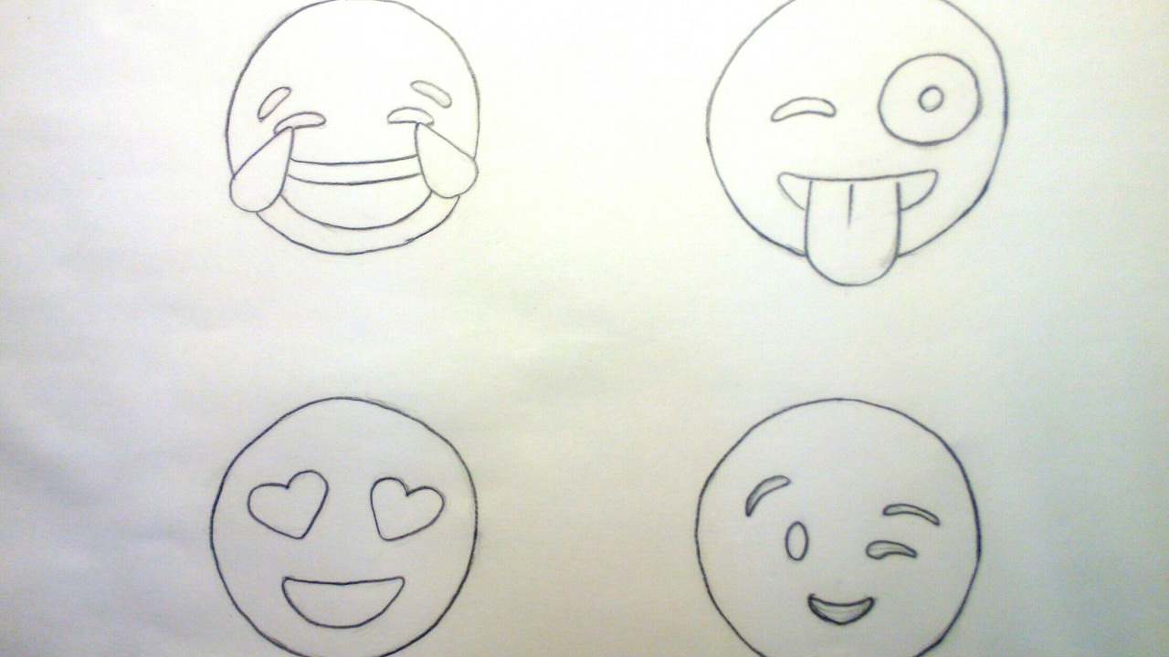 Learn How To Draw Emojis Step By Step Easy