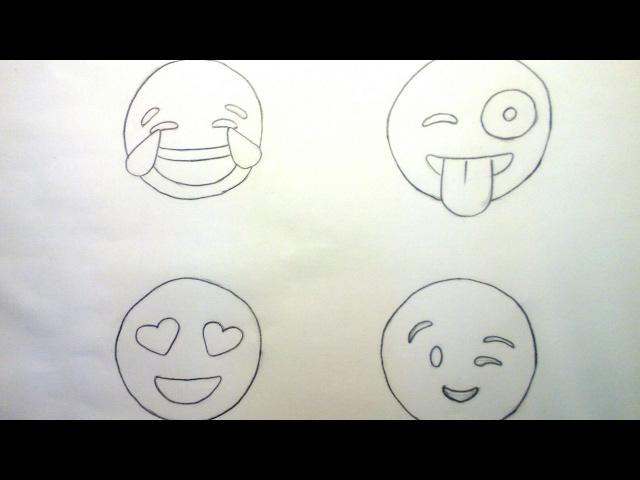 Emojis para dibujar, emoticonos para colorear | adibujar.com