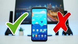Samsung Galaxy S8+ - 5 Alasan Membeli dan TIDAK Membeli