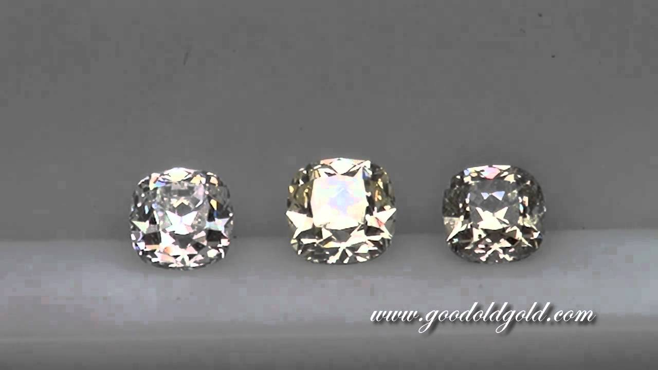 l vintage deco ring gia diamond carat art color