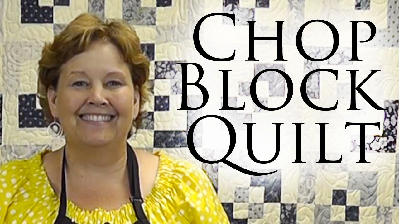 The Chopped Block Quilt Easy Quilting With Charm Packs