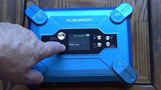 Floureon W100 Car Jump Starter (Built in Air Compressor) - Review