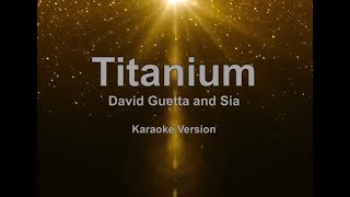 Titanium - David Guetta and Sia Karaoke