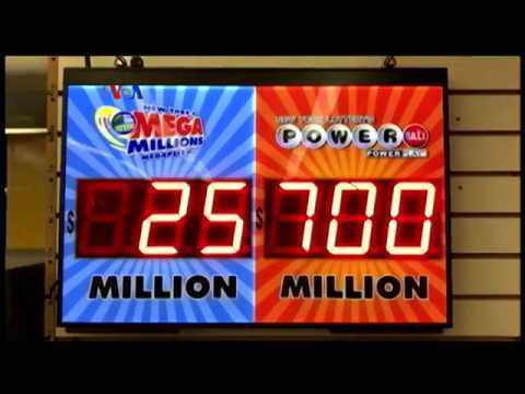 Pemenang Lotere $760 Juta - Laporan VOA