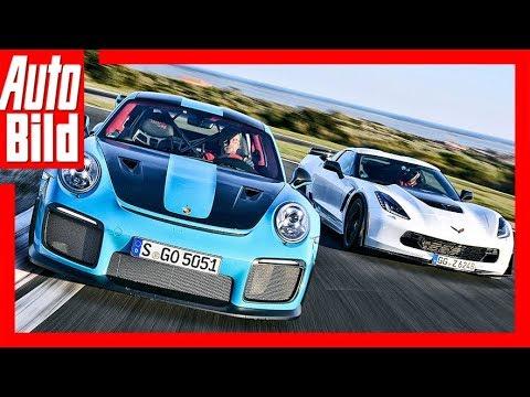 Porsche 911 GT2 RS vs. Corvette Z06 (2018) Das 1359-PS-Duell