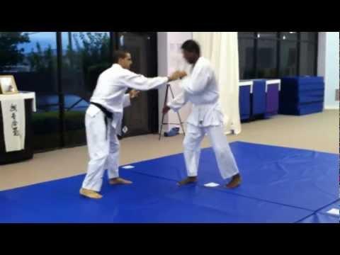 Experimental Aikido training - Randori (Sparring with Iriminage 7.9.12)