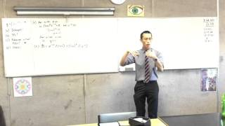 Calculus of Exponential Products (1 of 3: Finding the Intercepts and Turning Points)
