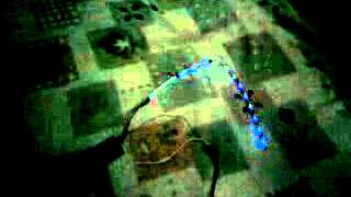Бесконтактная цветомузыка для RGB-ленты(Видео работы цветомузыки к статье: http://cxem.net/sound/light/light55.php., 2012-05-19T04:08:56.000Z)