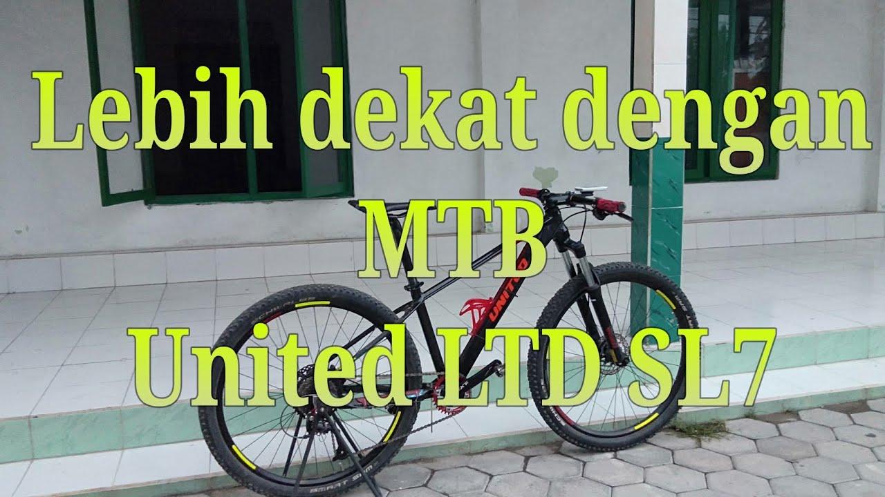 Lebih dekat dengan MTB united LTD SL7 - YouTube