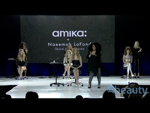 Amika Global Artistic Director Naeemah LaFond at ISSE Centerstage