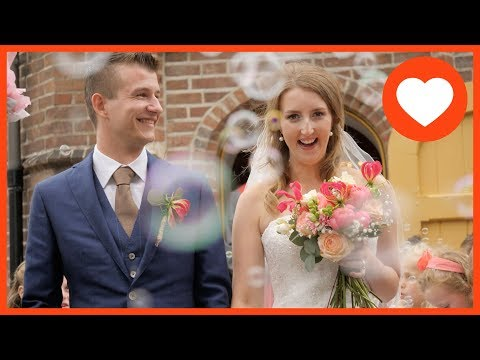 Trouwfilm | Trouwvideo | Voorhout Zuid Holland | Jeroen & Elianne ♥ 18 mei 2018