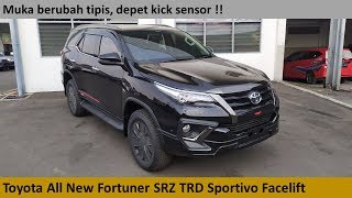 Toyota Fortuner TRD Sportivo Gasoline Facelift review - Indonesia