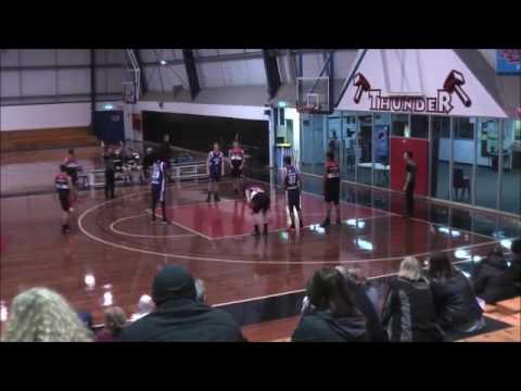 Matthew Collins - Blue #99 -  Big V Youth League Geelong Supercats vs Kelior Thunder 2017